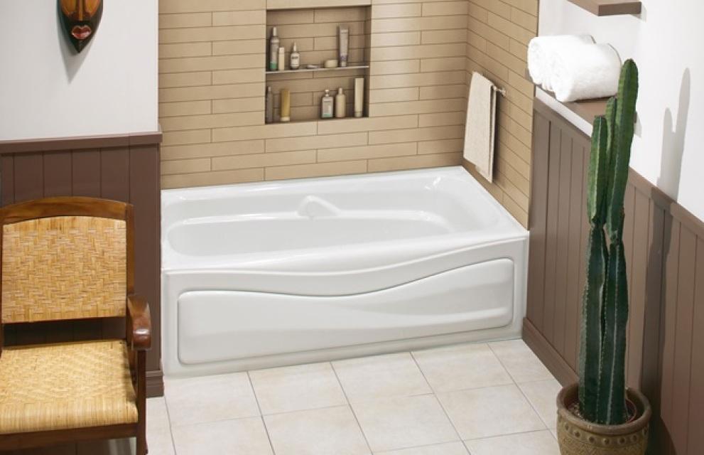 CORINTHIA II alcove bathtub by Maax