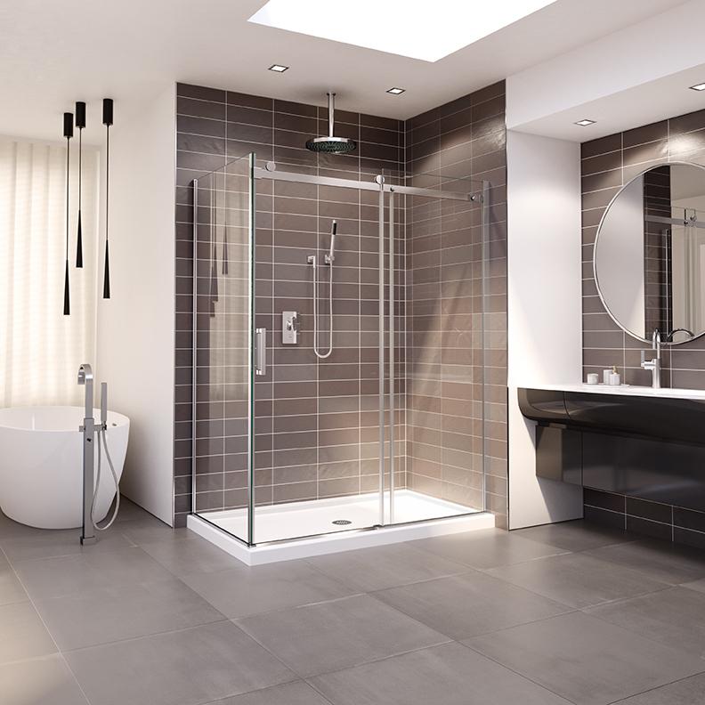 HORIZON multiple option shower door by Fleurco